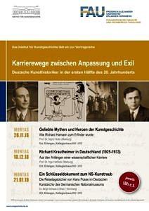 Poster: Karrierewege zwischen Anpassung und Exil