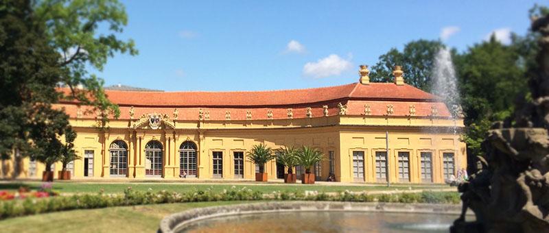 Orangerie Gebäude