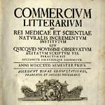 Titelblatt des »Commercium litterarium«