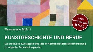 Kunstgeschichte und Beruf | WiSe 2020-21