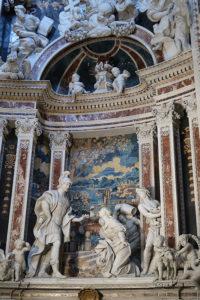 Palermo, Il Gesù, David und Abigail