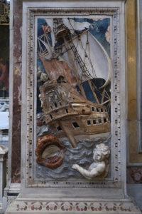 Palermo, Santa Caterina, Jonas und der Walfisch